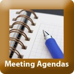 TP-meeting agendas